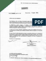 Comisión Nacional de Monumentos envia carta a Macri por Santa Catalina