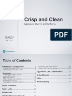 Crisp and Clean for Magento