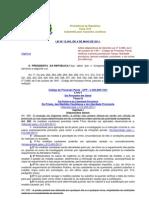 Lei n 11.403-2011 - Alteração CPP
