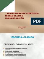 Teoria Adm Cientìfica y Clasica Version resumen