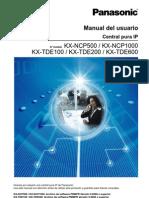 Manual Del Usuario TDE