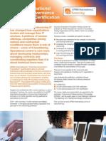 Sourcing Governance Foundation - Oct 11