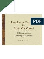 Earned ValueTechniques 2