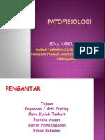 PATOFISIOLOGI- kuliah pendahuluan