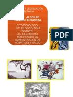 BIOÉTICA Y LEGISLACIÓN (SANITARIA)