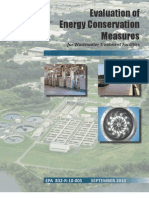 Evaluation of Energy Conservation Measures for Wastewater Treatment Facilities - USEPA