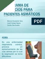 Programa de Ejercicios para Pacientes Asmáticos
