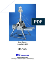 80100 Manual for Box Corer