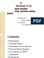 ME Health Monitoring System PPT[1]