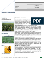 2011 03 14 Palm Oil Sector Report