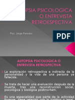 NECROPSIA PSICOLOGICA