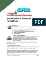 Introduccion a Powerpoint