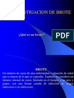 Investigacion de Brote