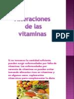 Alteraciones de Las Vitaminas