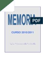 Memoria 2010-11