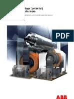 Instruction for Installation and Maintenance 1vlm000610 Rev4
