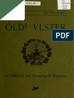 Olde Ulster History Nov 1910