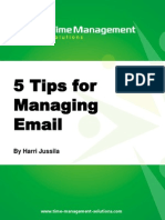 5 Tips for Managing Email
