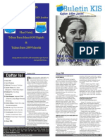 Buletin KIS Edisi 15 Komisariat PMII STAIN Jember