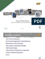 Type 28 Gas Seals System Presentation