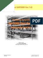 Modul III Bangunan Portal SAP2000
