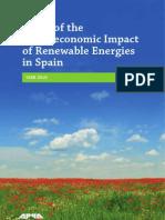 Macroeconomic Impact of RES in Spain-2010
