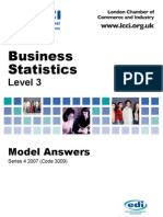 Business Statstics/Series-4-2007(Code-3009)