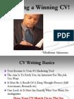 Creating a Winning CV Every Time
