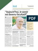 Gauchet- La Provence- 03-12-2008