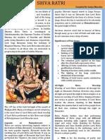 Shiva Ratri by Sanjay Bharatha