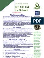 Appleton School Newsletter - 31st May 2012