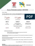 UDL Invitation Réunion d'info syndicale Non titulaires