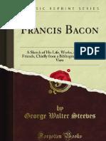 Francis Bacon - 9781440048142