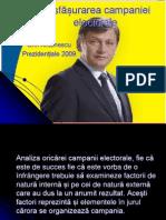 Desfășurarea campaniei electorale