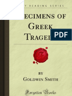 Specimens of Greek Tragedy - 9781606801659