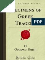 Specimens of Greek Tragedy - 9781606801659