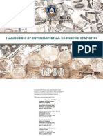 Handbook of International Economic Statistics 1998