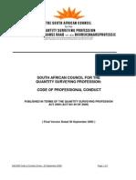SACQSP Code of Conduct
