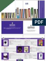 Genius Publication Catalogue