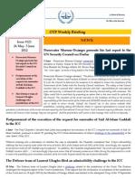 OTP Weekly Briefing 26 May - 5 June 2012 #123 Copy