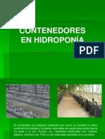 Contenedores y Produccion de Plantula