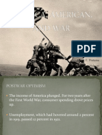 Group 10 - America, American, And War