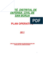 2011 Municipalidad Distrital de San Borja-plan Opertivo de Def Civil Original