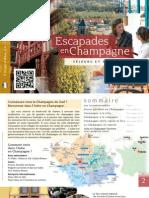 Brochure Escapade 2012 - Week-end et courts séjours dans l'Aube en Champagne