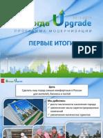 Вологда Upgrade. Первые итоги