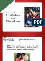 1. Los Padres Como Educadores