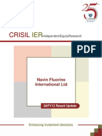 CRISIL Research Ier Report Navin Fluorine 2011 Q4FY12