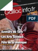 GaillacInfo n°13