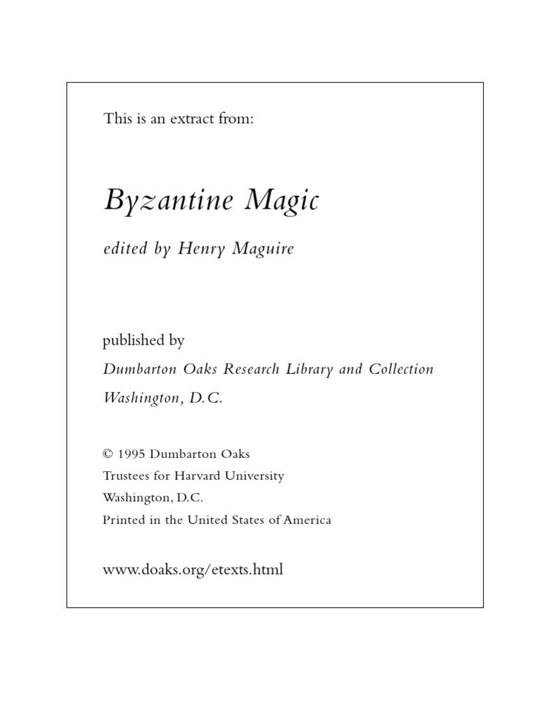 8072d017c3361 Byzantine Magic   Amulet   Byzantine Empire