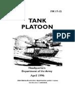 FM 17-15 Tank Platoon